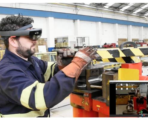 Industria 4.0 Realidad Aumentada